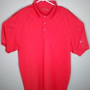 Nike Golf Fit Dry Short Sleeve Polo Shirt